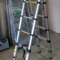 Телескопическая лестница стремянка