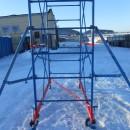 Вышка строительная SOLID PROF 4 (2,0м х 1,2м) высота от 2,8 до 20,8 метров